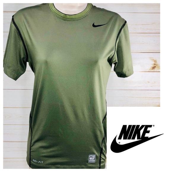 3b319a016 Olive green Nike combat pro compression shirt. M_5af9d7685512fd6c38d09e6e